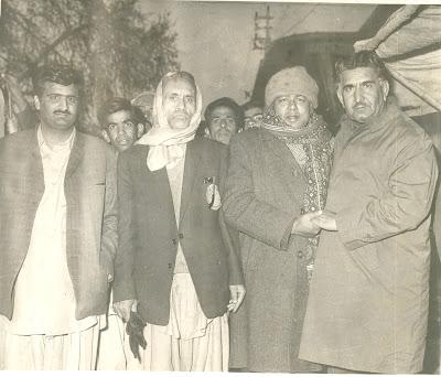 Gul Khan Nasir and Habib Jalib