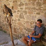 Околиці Судаку. Генуезька фортеця. Мудак, що мучає бідного орла