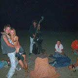 Нічний сейшн на пляжі