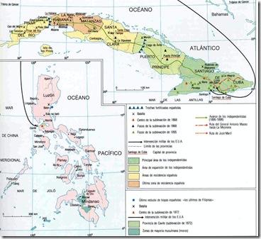 Guerras de Cuba y Filipinas
