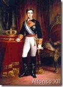 Alfonso XII por F. Madrazo