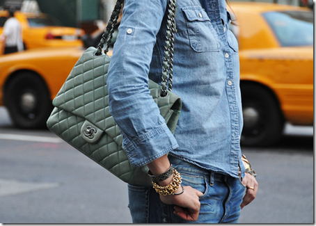 Denim & Chanel via Styled On