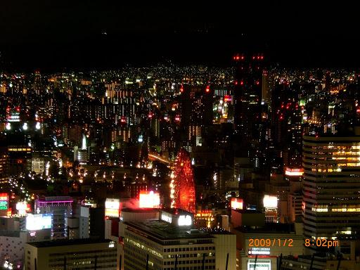 天空庭園-大阪夜景
