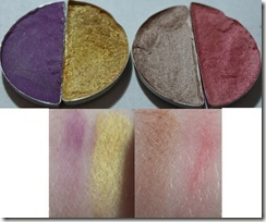 L'Oreal Hip Shadow Swatches 1