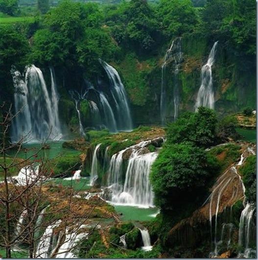 Air terjun paling cantik di china