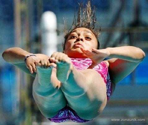 Lompat Indah lucu (1)