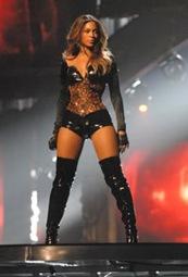 Beyonce en el Backstage