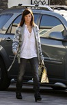 IMAGE ID # 1783269 Ashley Tisdale revealed an even darker do as she visited a Los Angeles, CA office building today.<br /> <br /> CR: RIV/Fame Pictures<br />  01/07/2009 --- Ashley Tisdale --- (C) 2008 Fame Pictures, Inc. - Santa Monica, CA, U.S.A - 310-395-0500 / Sales: 310-395-0500