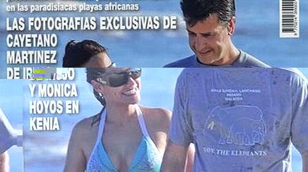 Monica Hoyos confirma romance con Cayetano Martinez