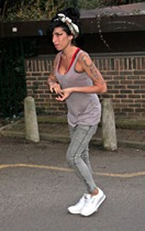 amy winehouse gym 070309