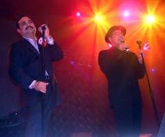 Roberto Blades y Gilberto Santa Rosa