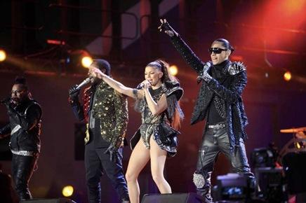 Black Eyed Peas en el Concierto de Inauguracion del Mundial de Sudáfrica 2010