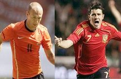 España vs Holanda