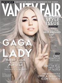 Lady Gaga en VanityFair