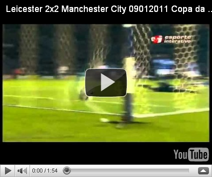 Watch Leicester Vs Manchester City Highlights 2 2 Goals Fa Cup 09