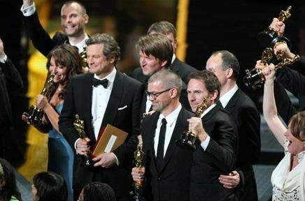Oscar winners The Kings Speech