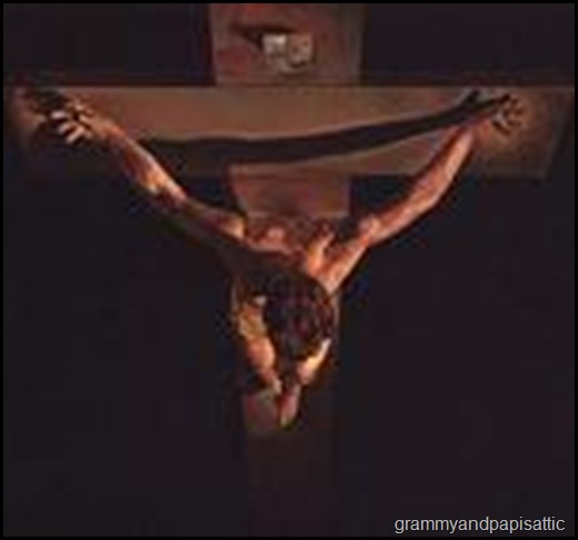 min-crucifixion-top-view
