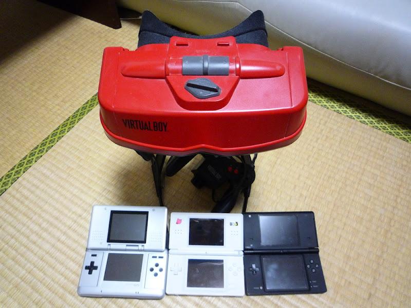 Nintendo 3DS ニンテンドー3DS Virtual Boy バーチャルボーイ Nintendo 任天堂