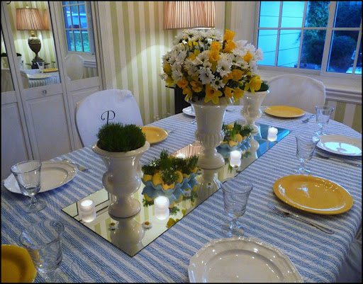 Easter table 2010 001
