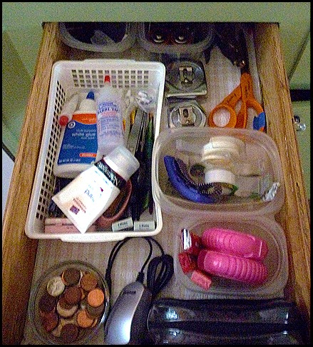 Junk drawer clean out 004