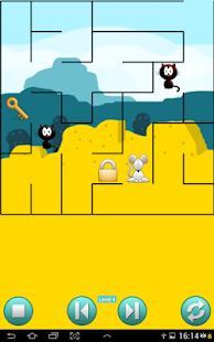 Cat and Mouse Maze Puzzle - screenshot