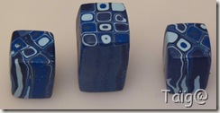 Cane carré psychédélique bleue - 2010 - compressée