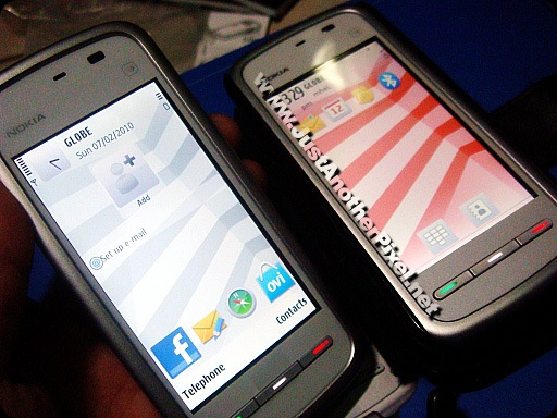 My 2 Nokia 5230 phones - JustAnotherPixel.net