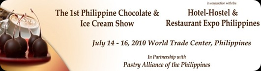 The 1st Philippine Chocolate and Ice Cream Show