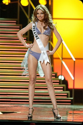 Miss Universe 2010 3rd Runner up Miss Ukraine Anna Poslavska - JustAnotherPixel.net