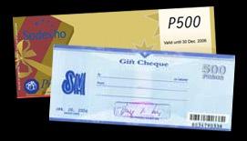 Sodexho or SM Gift Certificates - JustAnotherPixel.net