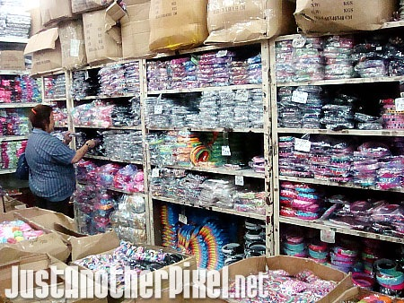 My nanay at this warehouse of different gift items for young and old - JustAnotherPixel.net