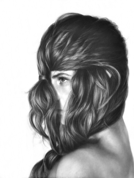 Melissa Cooke Gladiator You Know Me Better Than I Know Myself Art Drawing Graphite