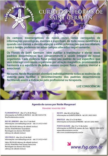 Curso Florais de Saint Germain