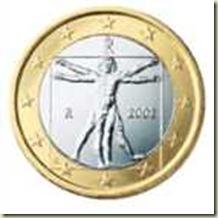 Moeda de um euro 140x140