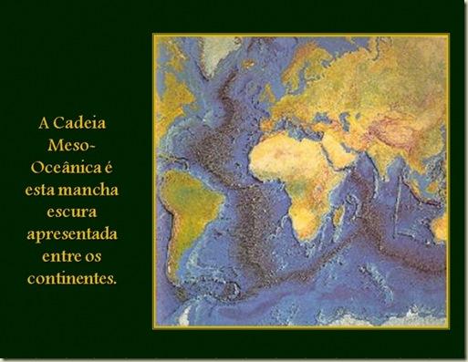 Mirtzi 13 Cadeia Mezoceânica entre continentes
