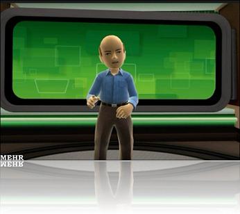 """""""آواتار"""" بالمر در نمایشگاه بین المللی محصولات الکترونیک مصرفی 2011 لاس وگاس"""