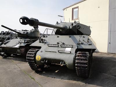 Tanques de la exposición