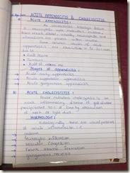 acute appendicits and acute cholecystitis detail