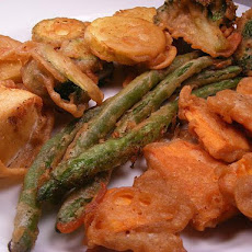 Tempura Vegetables (Also Fish, Shrimp or Calamari Rings)