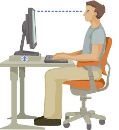 Pozycja monitora