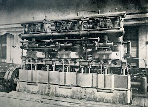 Fig 5.- One of the main engines of the SEBASTIAN, in the erecting shop.Text and photo from THE SHIPBUILDER. Year 1914..jpg