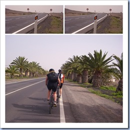 Birgit og Rea på sykkel