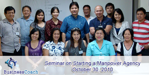 Seminar on Starting a Manpower Agency