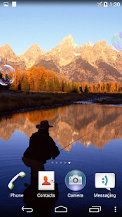 Fly Fishing Live Wallpaper - screenshot