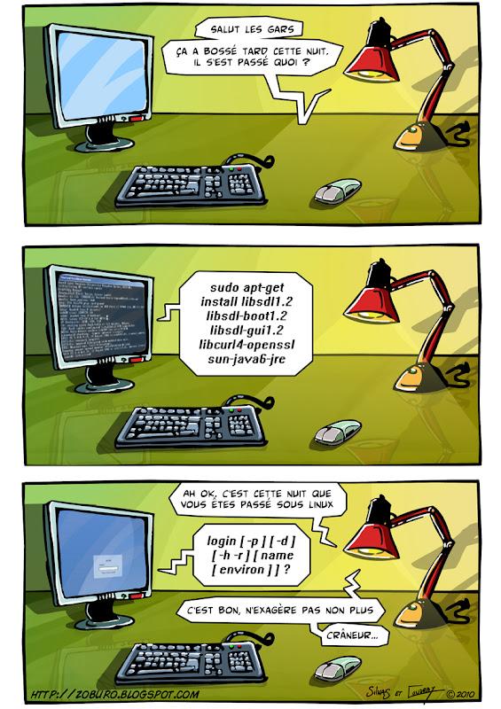 Jeux érotiques linux