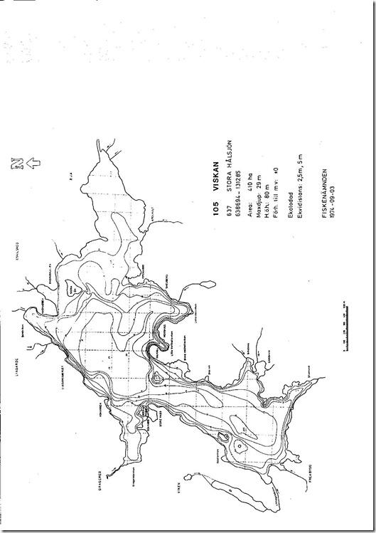 St.Hålsjön, viskan