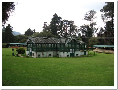 Ooty botanical Garden Glass house