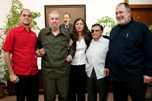 Comenzó transmisión de la entrevista concedida por Fidel a periodistas de Venezuela