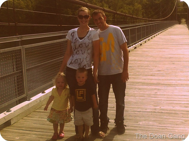 fam on bridge