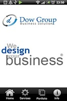 Screenshot of web design dubai - Dow Group